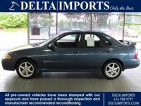 Options Included: N/A2001 Nissan Sentra SE 2.0 Sedan