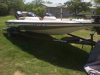 Nice 2001 Nitro 700 LX Bass Boat w/ 75 HP Outboard