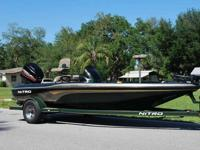 2001 NITRO NX 882 18' Bass Boat - Extremely well built