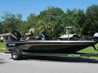 2001 NITRO NX 882 18' Bass Boat - Extremely well