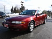 Clean CARFAX. 3.4L V6 SMPI OHV. 2001 Oldsmobile