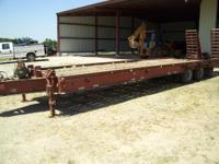 2001 Other 50 000 lb equipment trailer LONG 50 000lb