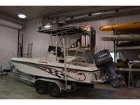 2001 Paramount 21 foot Super Fisherman. This great boat