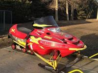 I have a 2001 Polaris Edge X 600 for sale that is red