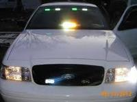 THIS 2001 P71 POLICE INTERCEPTOR HAS ABOUT 75,000MI