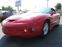 2001 PONTIAC FIREBIRD, 123K miles, V6/AUTO, CRUISE, CD,