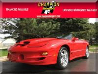 Options:  2001 Pontiac Trans Am 2Dr Conv Trans Am