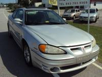 Options Included: N/A2001 PONTIAC GRAND AM... reliable,