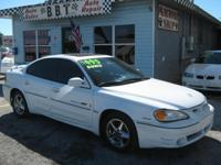 2001 PONTIAC GRAND AM GT 4 DOOR 3.4 LITER V6 ENGINE SFI