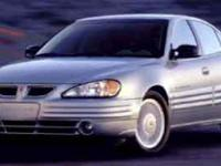 Safe and reliable, this Used 2001 Pontiac Grand Am SE1