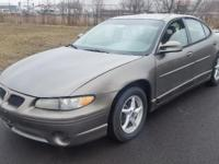 2001 PONTIAC GRAND PRIX Vehicle Information Make: