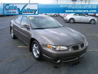 Options Included: N/A2001 Pontiac Grand Prix SE SDN in