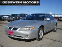 2001 Pontiac Grand Prix SE For Sale.Features:Traction