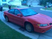 2001 Pontiac Grand Prix Special Edition. Red. Only 168k