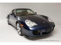 Exotic Classics is pleased to present this 2001 Porsche
