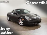 2001 Porsche Boxster S. Yes! Yes! Yes! Yeah infant!