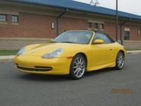 Immaculate, second owner, 2001 Porsche Carrera