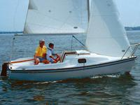 2001 Precision 16.5 sailboat, excellent condition, jib