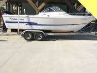 2001 Pro Line 20 DC with a 2 stroke, Mercury Saltwater