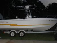 LOW HOURS 225 OPTIMAX, OUTRIGGERS, FISH FINDER, GPS,