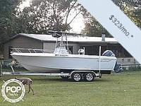 You can have this vessel for as low as $323 per month.