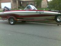 2001 ProCraft 180 Combo fish & ski, 150 hp Mercury