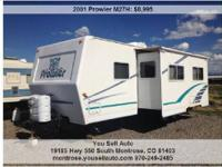 Here is a great travel trailer in great working order.