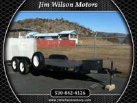 2001 QUALITY CAR HAULER TRAILER Our Location is: Jim