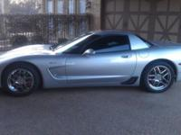 Up for sale is a beautiful 2001 Quicksilver Corvette