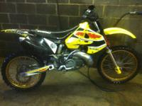whats up i have a 2001 rm 250 has excel gold rims fmf