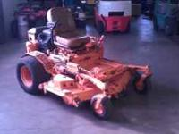 "This posting is for a 2001 Scag Turf Tiger 61"" Cut."