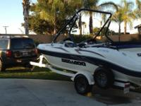 20' Rated for 8 passengers. 240HP EFI Mercury V6. Very