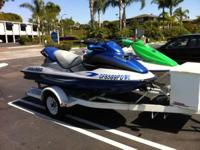 2001 Sea Doo GTX and 1997 Sea Doo GTX 3. Both Sea Doo's