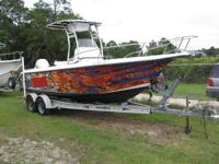 2001 Sea Fox 230 Center Console, 200 hp Johnson Ocean
