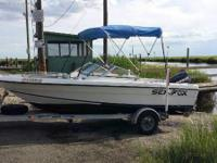2001 Sea Fox DC 185 Boat is located in Vineland,New
