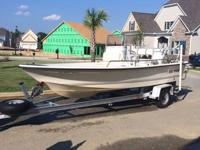 2001 SEA PRO Bay Boat for sale. Boat has a 90hp Johnson