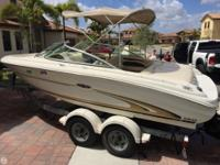 2001 Sea Ray 190 Bowrider, One Owner, with very low