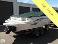 - Stock #78933 - This is a hardly used deck boat with