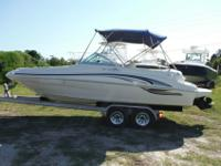 2001 Sea Ray 210 Sundeck Bowrider Runabout Ski Boat