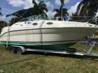 The Sea Ray 240 Sundancer is a versatile, affordable,