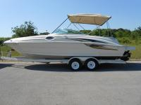 Lake Ready 2001 Sea Ray 240 24' deck boat that the