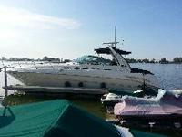 2001 Sea Ray 410 Sundancer. Twin 3126 CAT diesel