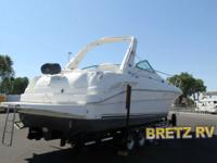 2001 Sea Ray Sundancer340 Twin 8.1 liter Horizon v twin