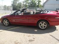 2001 seabring convertable car is clean runs and drives