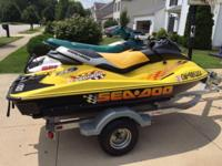 This 2001 SeaDoo RXX is one of only five hundred