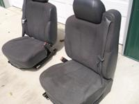 I have  a pair of bucket seats from a 2001