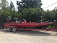 Skeeter zx 225 bass boat. 2001 21'225 hp fuel injected