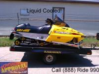 2001 Ski Doo MXZ500 Liquid Cooled - for sale with only