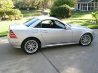Gorgeous SLK 320. Program space condition. Upper end of