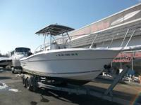 This 2001 Sportcraft 240 Center Console is powered by